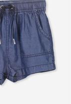 Cotton On - Alexa short - blue