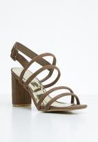 STYLE REPUBLIC - Slingback heels - taupe