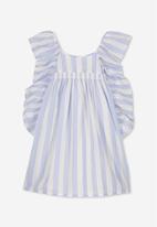 Cotton On - Eva dress - blue & white