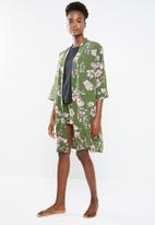 Superbalist - Contrast robe - khaki