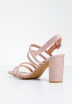 STYLE REPUBLIC - Slingback heels - pink