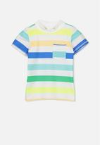 Cotton On - Finley short sleeve rash vest - multi