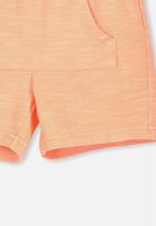 Cotton On - Henry slouch short - orange