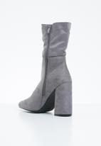 STYLE REPUBLIC - Flaired boot - grey