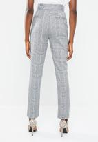 Superbalist - Check tapered pants - multi