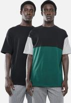 Superbalist - Loose fit tee combo 2-pack - multi