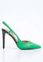 Madison® - Slingback court heels - green