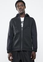 Reebok - Training supply full-zip hoodie - black