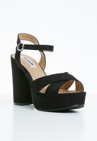 Madison® - Ankle strap heels - black