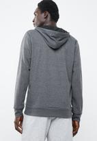 Reebok - Speedwick full zip hoodie - grey