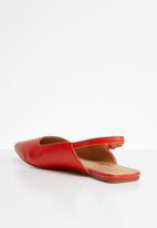 Jada - Slingback pumps - red