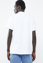 New Look - Michigan printed short sleeve tee - white
