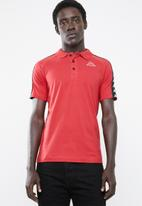 KAPPA - 222 Banda estrel polo - red