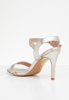 Jada - Ankle strap heels - gold