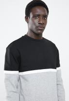 New Look - Self-block crew neck sweater - multi
