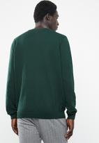 New Look - Upspec crew neck long sleeve knit - green