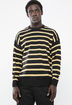 New Look - Stripe crew neck knit - multi