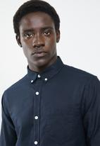 New Look - New oxford slim fit shirt - navy
