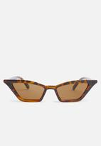 Superbalist - Nefarious sunglasses - brown