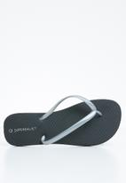 Superbalist - Flip flop - metallic black