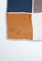 Superbalist - Colour block scarf - multi