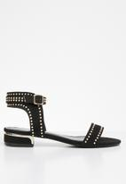 Miss Black - Megan sandal - black