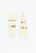 Superbalist - Sophia pressed metal earrings - gold