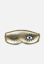 Typo - Total block out eye-mask - gold