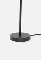 Sixth Floor - Upright table lamp set of 2 - black/white