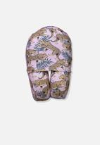 Typo - Foam travel pillow - pink