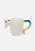 Typo - Novelty shaped mug - white