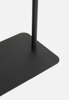 Sixth Floor - C Side table - black