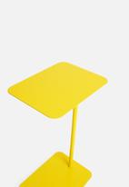 Sixth Floor - C Side table - yellow