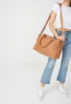 Typo - Weekend away bag - tan
