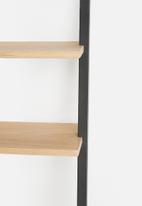 Emerging Creatives - Leaning wall shelf - black