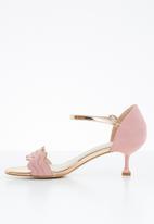 Miss Black - Hope heel - pink