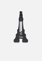 Typo - Shapeshifter luggage tag - black