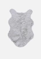 Fotakis - Eli faux fur rug - grey
