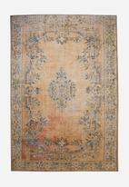 Hertex Fabrics - Shanaya rug - rust orange