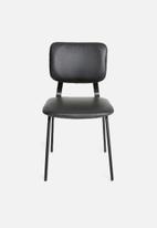 Sixth Floor - Industrial dining chair - black