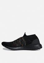 adidas Performance - UltraBOOST Laceless - black/shock cyan/shock yellow