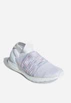 adidas Performance - UltraBOOST Laceless - white/active red/active green