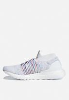 adidas Performance - UltraBOOST Laceless W - white/active green