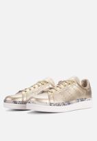 adidas Originals - Stan Smith New Bold W - gold/off white