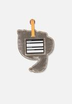 Typo - Shapeshifter luggage tag - orange