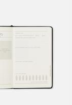 Typo - Premium activity journal - black