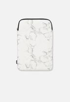 Typo - Laptop sleeve 13 inch - marble