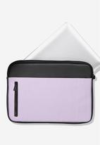 Typo - Take charge laptop cover - purple