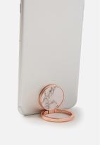 Typo - Metal phone ring - white