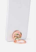 Typo - Metal phone ring - peach